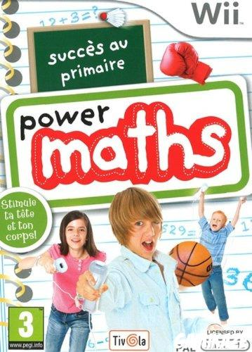 cover Power Maths wii