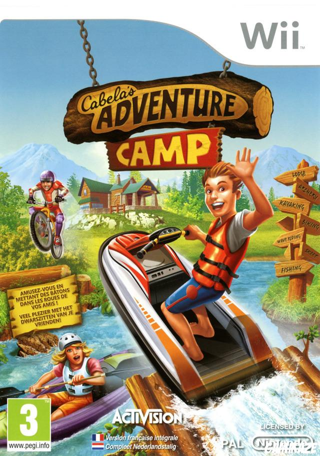 cover Cabela's Adventure Camp wii
