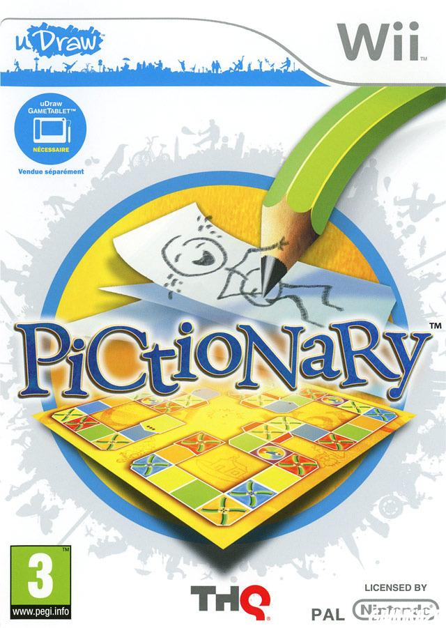 cover Pictionary wii