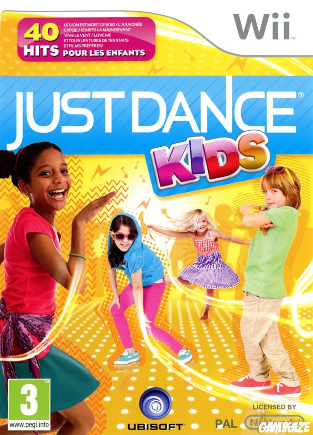 cover Just Dance Kids wii