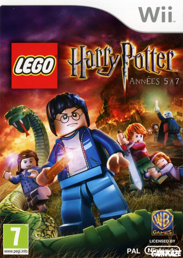 cover Lego Harry Potter : Années 5 à  7 wii