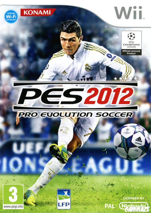 cover Pro Evolution Soccer 2012 wii