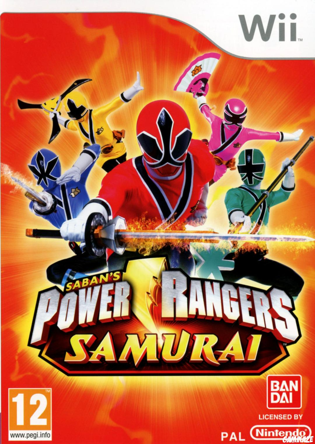 cover Power Rangers Samurai wii