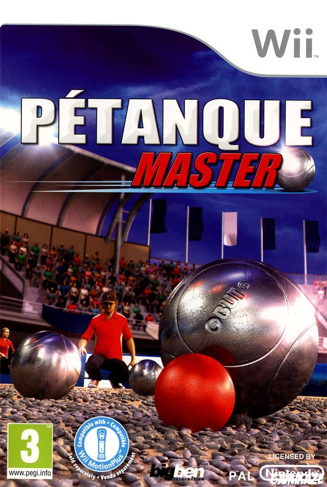 cover Pétanque Master wii