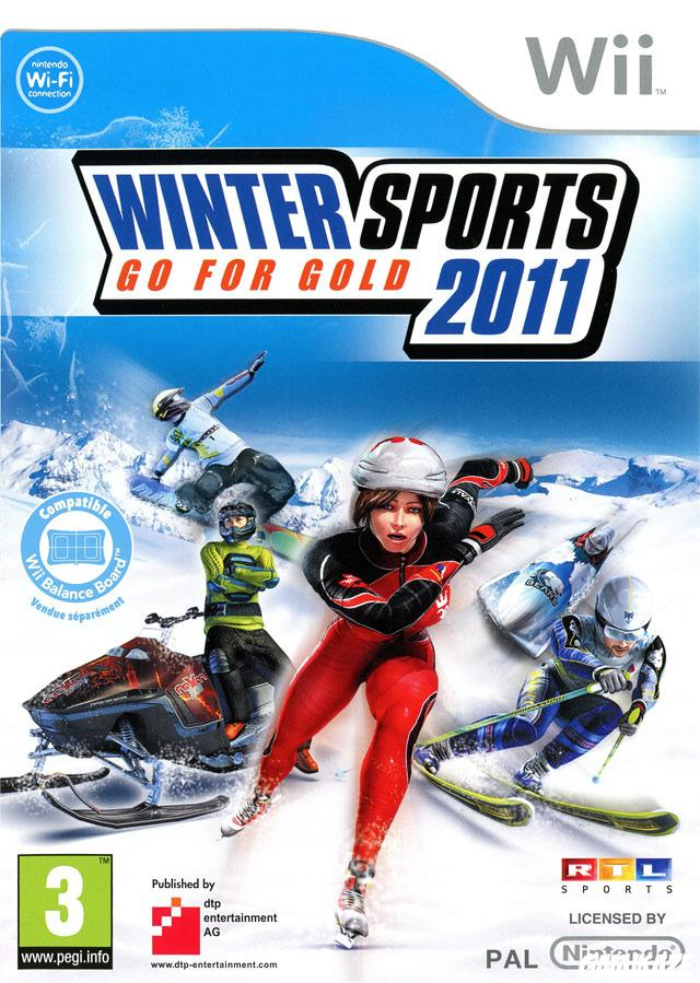 cover Winter Sports 2011  Go for Gold wii