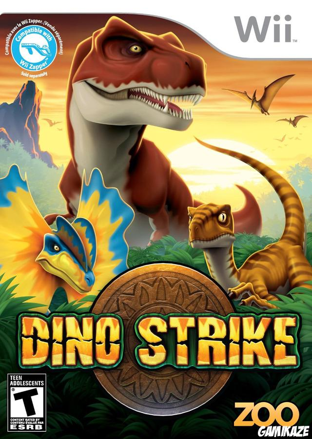 cover Dino Strike wii