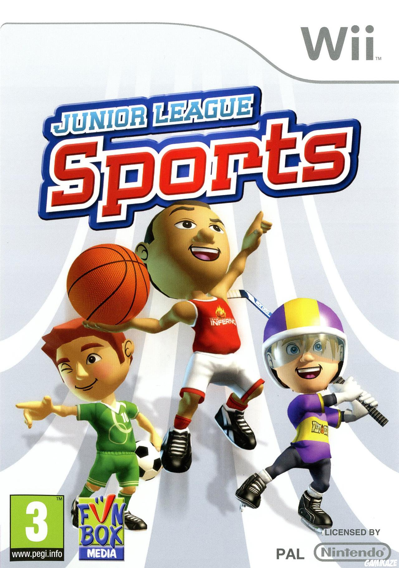 cover Junior League Sports wii