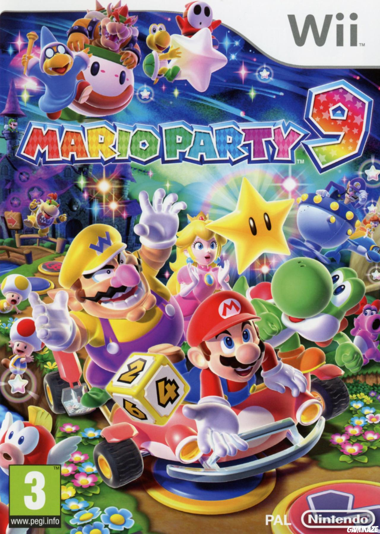 cover Mario Party 9 wii