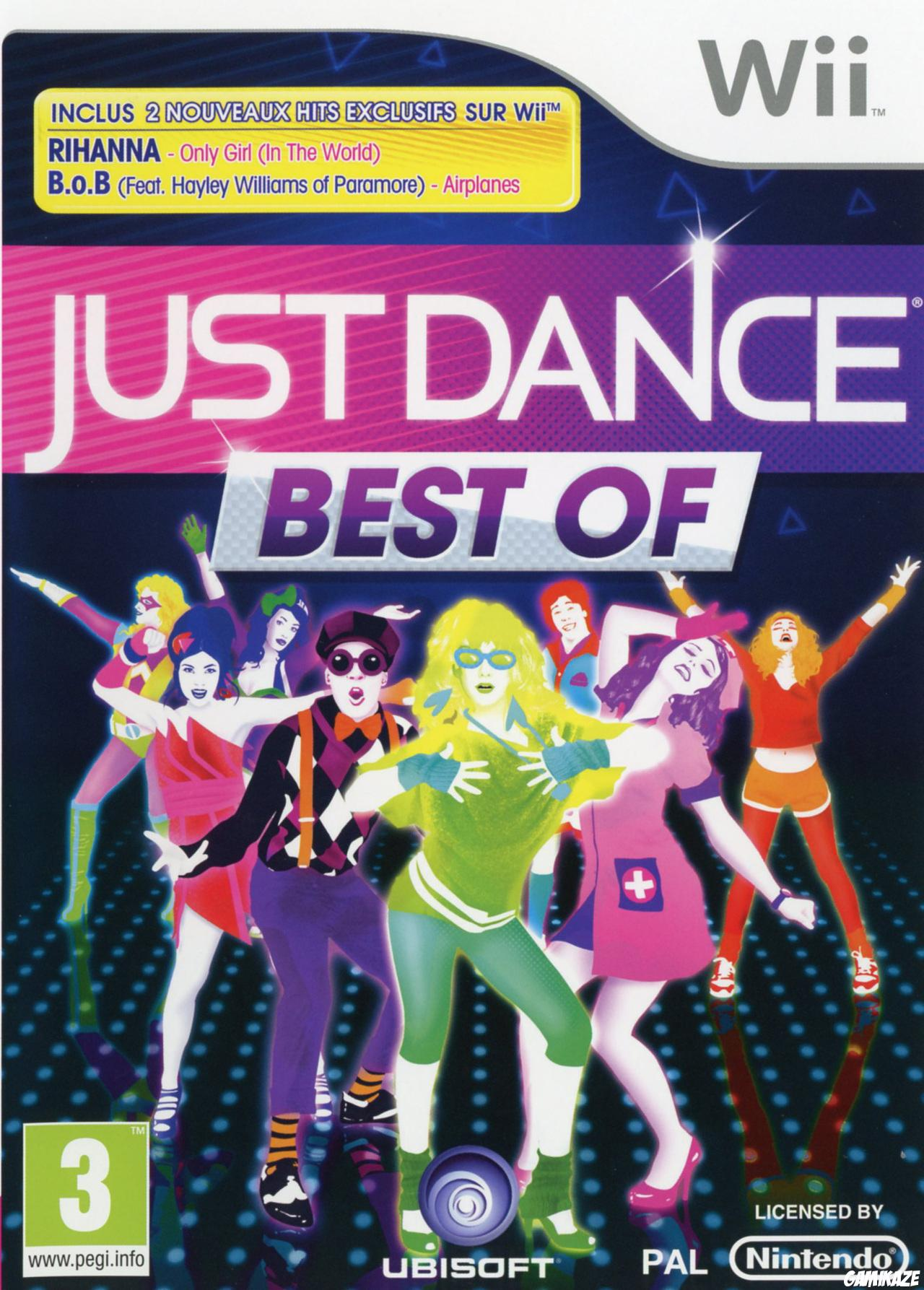 cover Just Dance Best Of wii