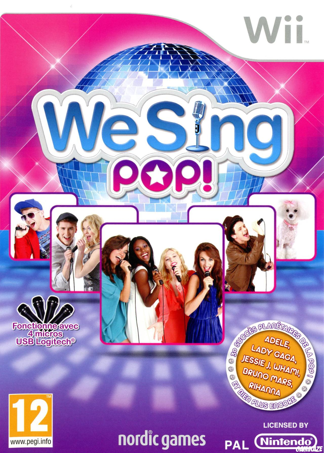 cover We Sing Pop ! wii