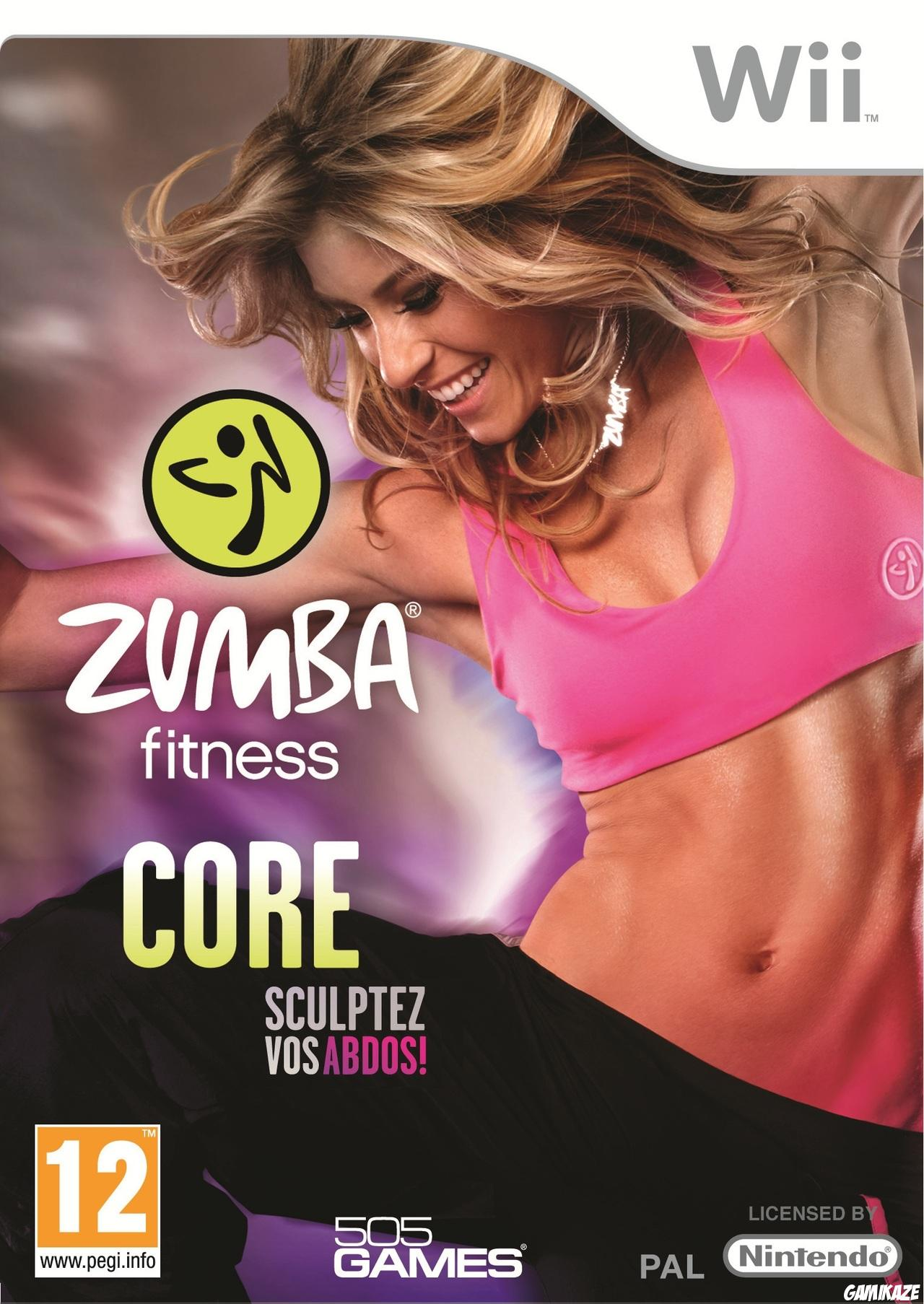 cover Zumba Fitness Core wii