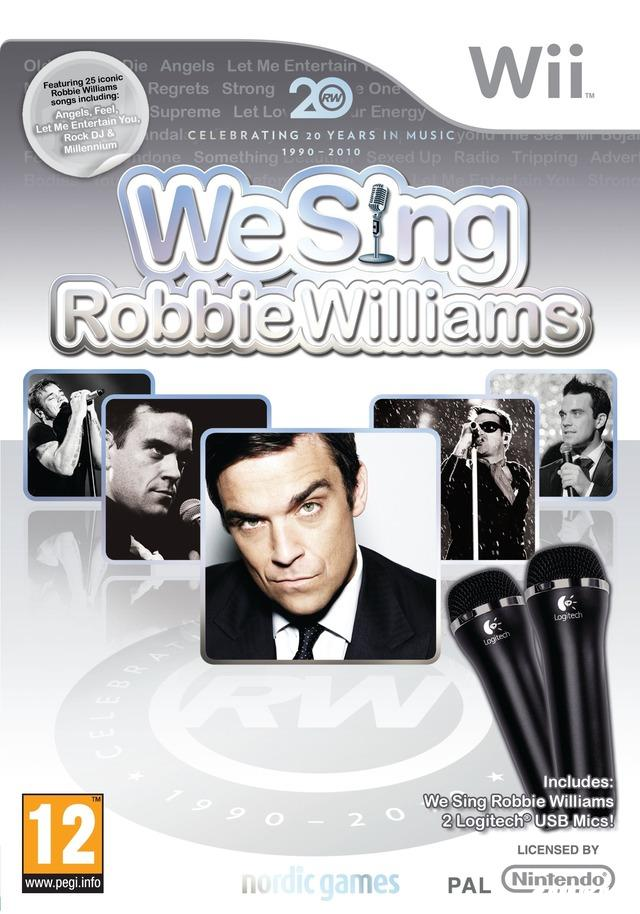 cover We Sing Robbie Williams wii