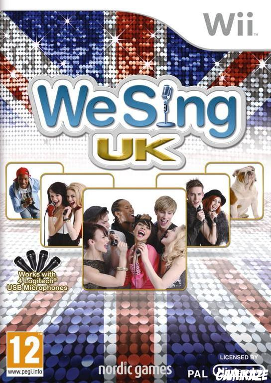 cover We Sing UK Hits wii