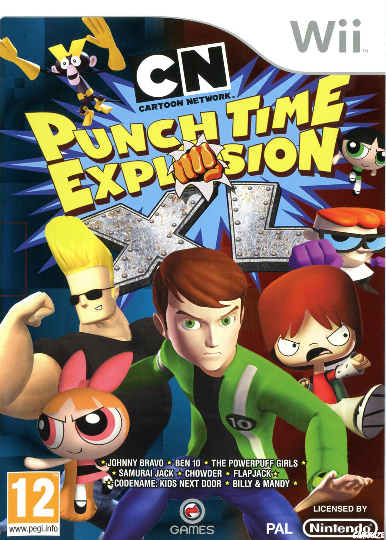 cover Cartoon Network : Punch Time Explosion XL wii