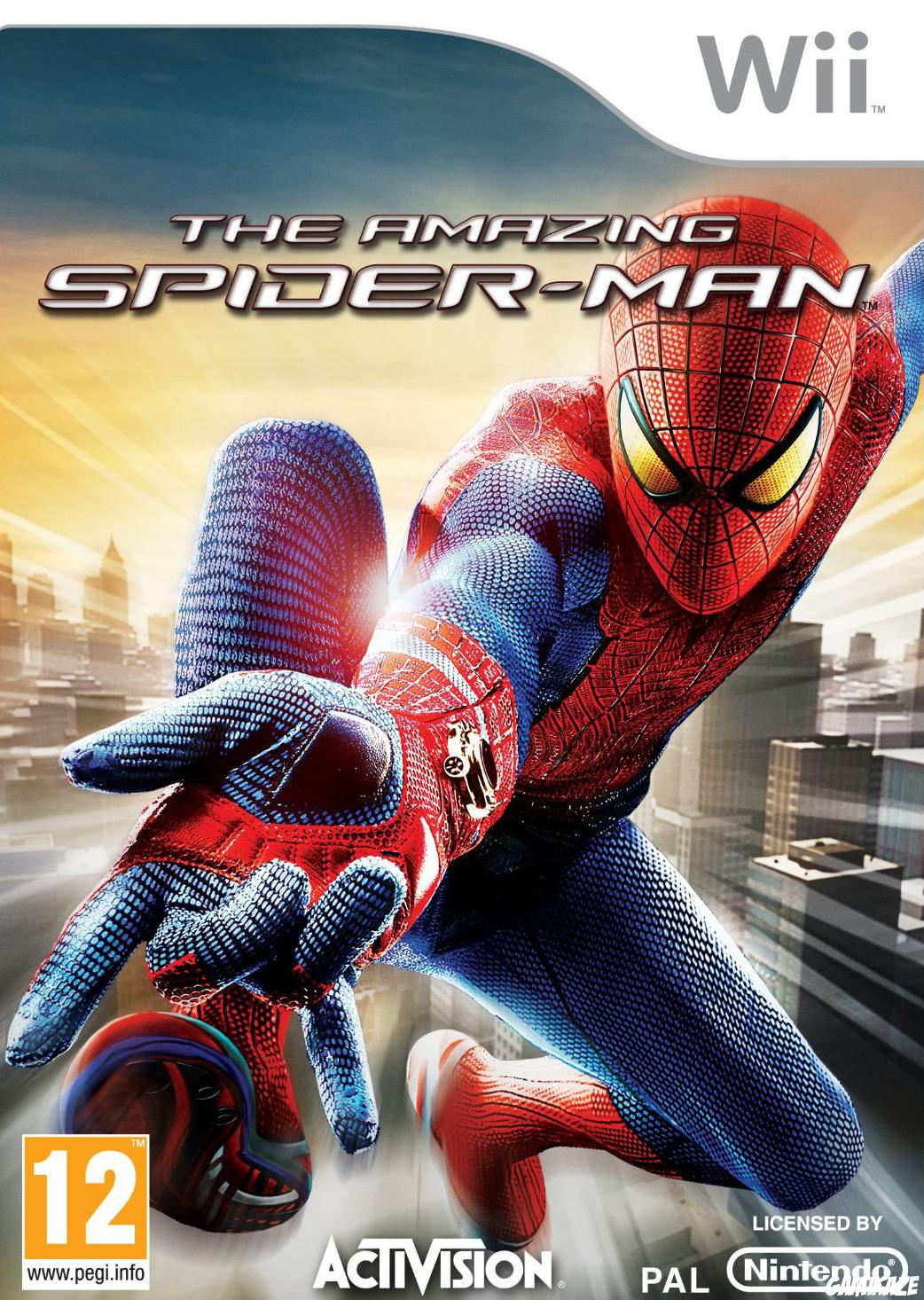 cover The Amazing Spider-Man wii