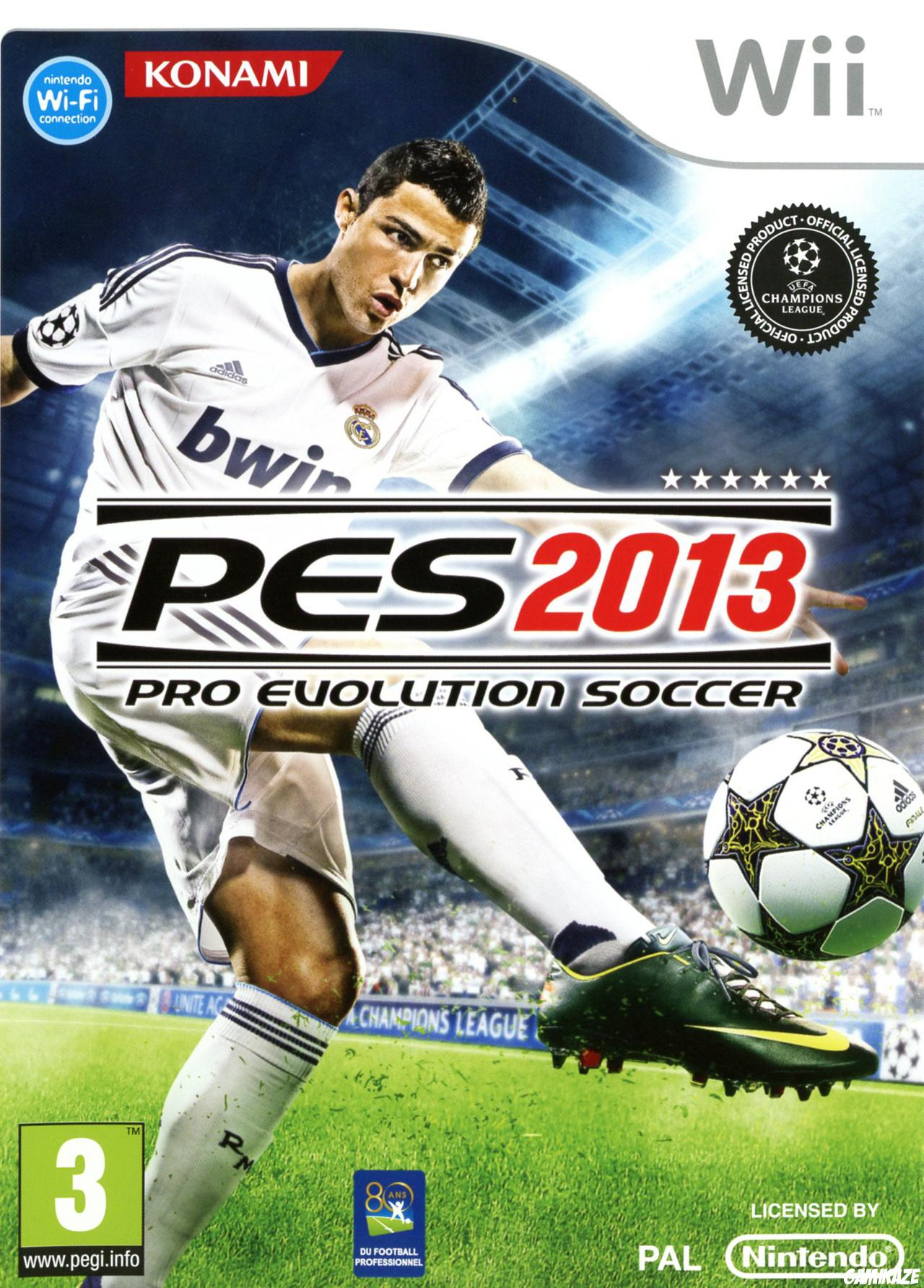 cover Pro Evolution Soccer 2013 wii