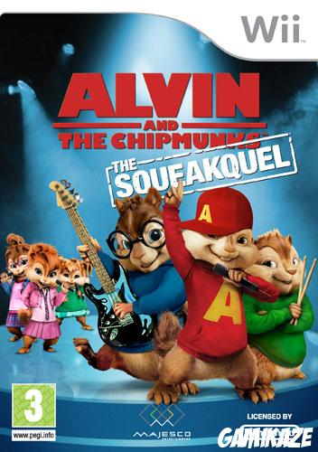 cover Alvin et Les Chipmunks : The Squeakquel wii