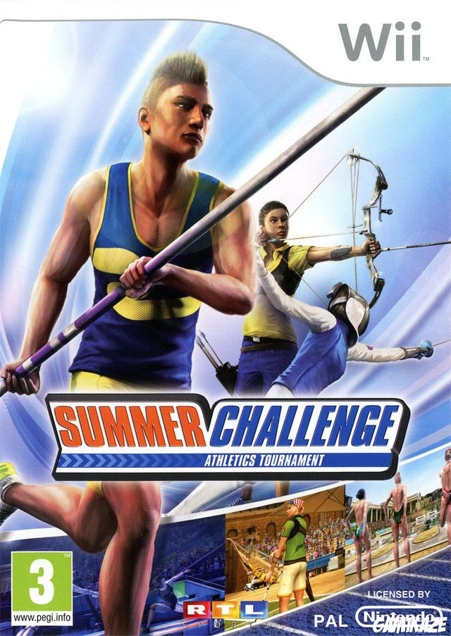 cover Summer Challenge Athletics Tournament wii