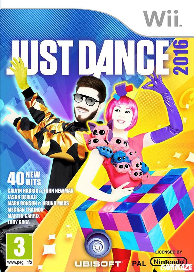 cover Just Dance 2016 wii