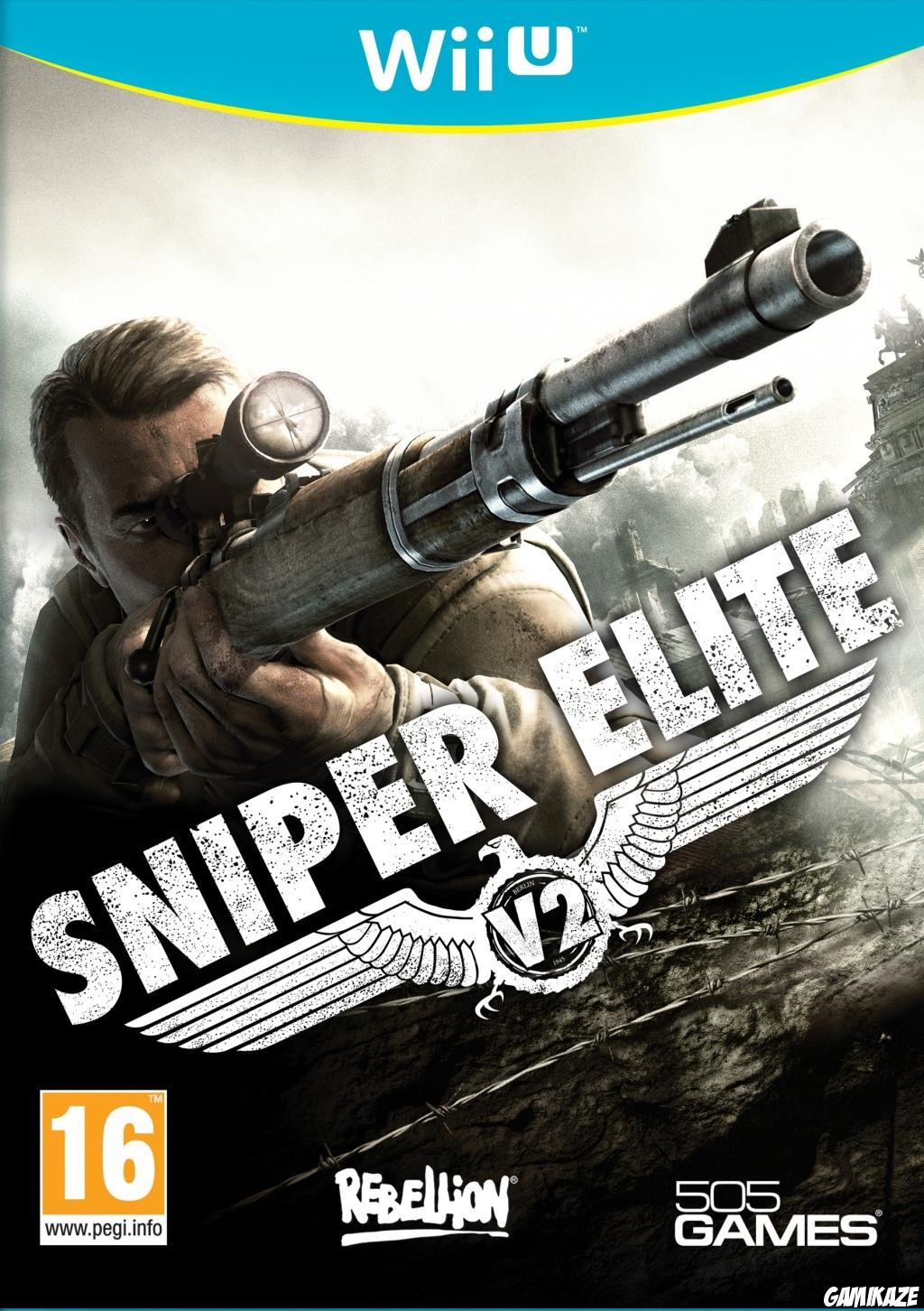 cover Sniper Elite V2 wiiu