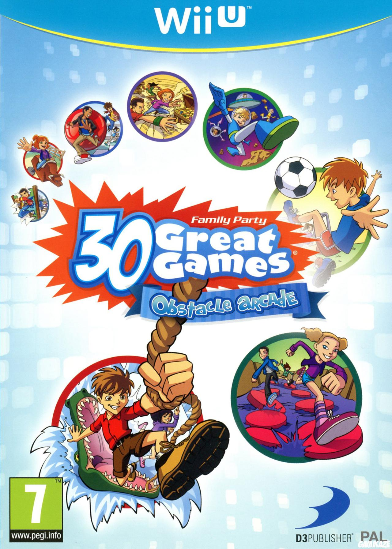 cover Family Party : 30 Great Games Obstacle Arcade wiiu