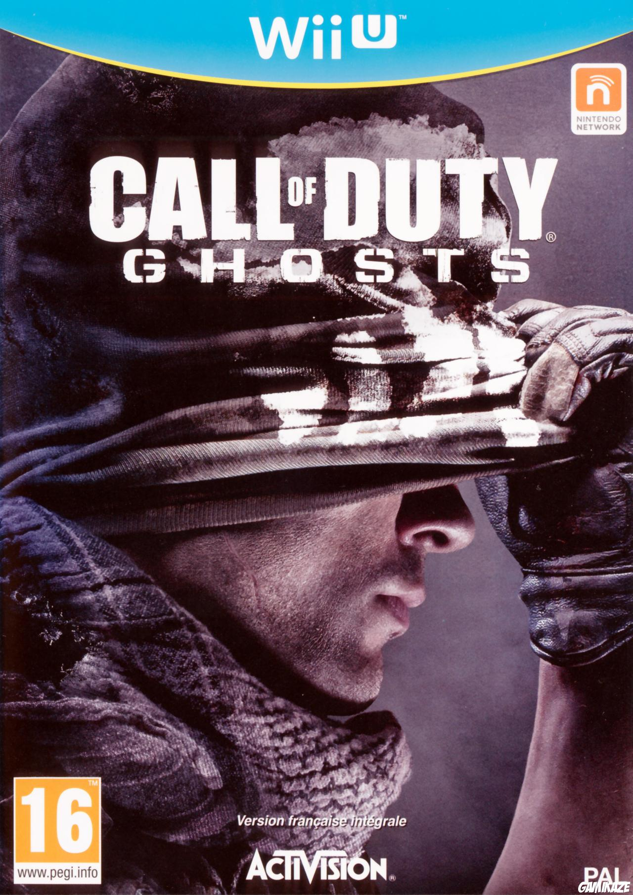 cover Call of Duty : Ghosts wiiu