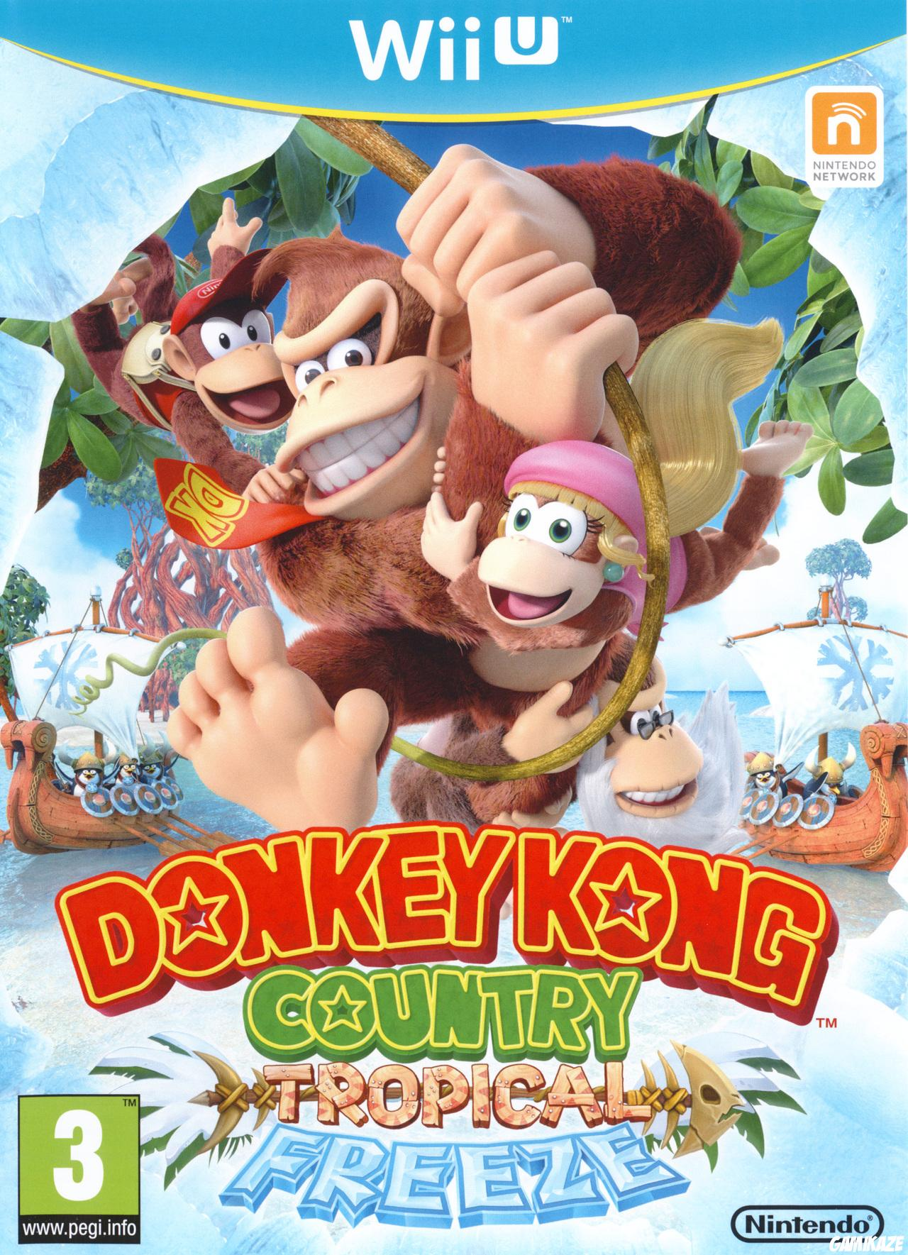cover Donkey Kong Country : Tropical Freeze wiiu