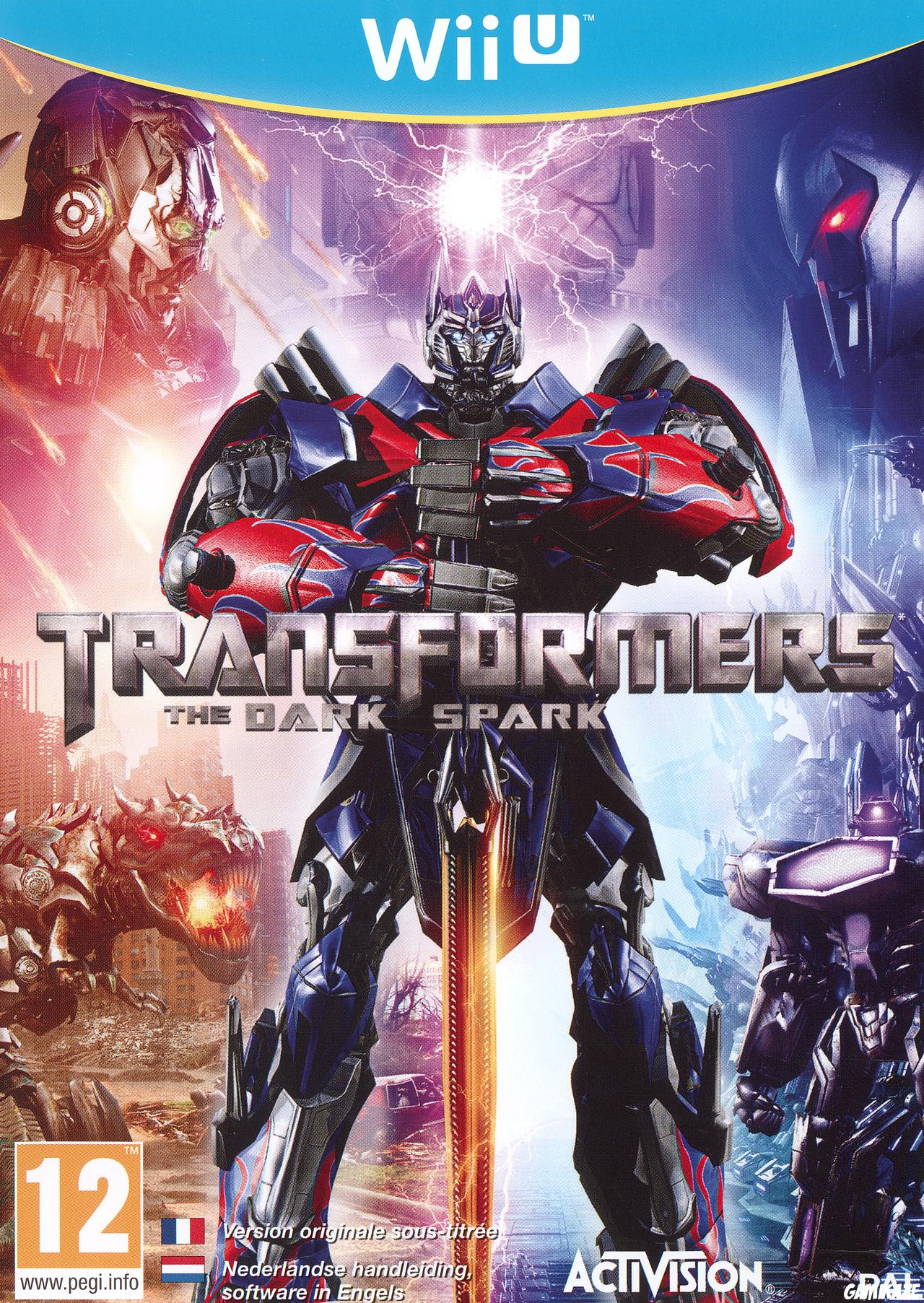 cover Transformers : Rise of the Dark Spark wiiu
