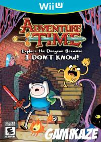 cover Adventure Time : Explore le Donjon et Pose pas de Question ! wiiu