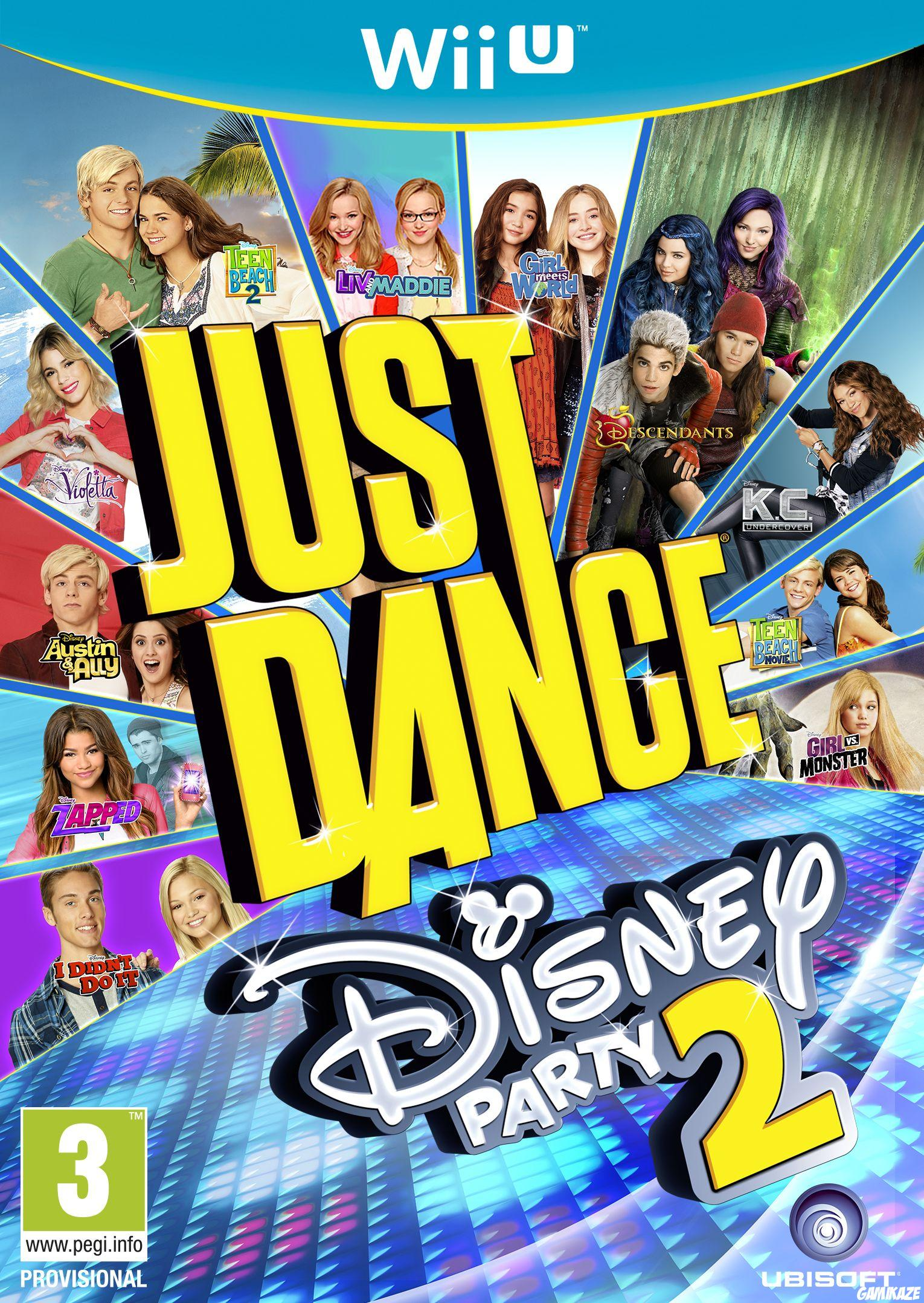 cover Just Dance : Disney Party 2 wiiu