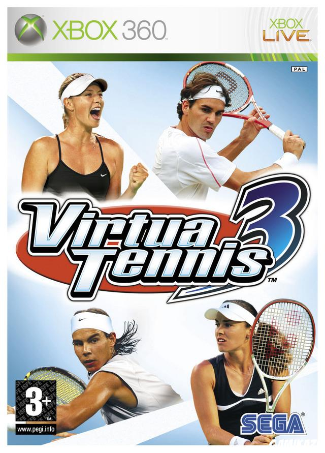 cover Virtua Tennis 3 x360
