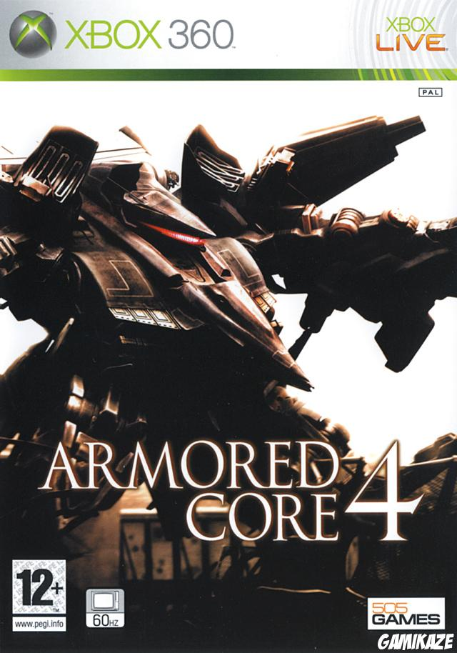 cover Armored Core 4 x360