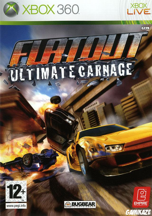 cover FlatOut Ultimate Carnage x360
