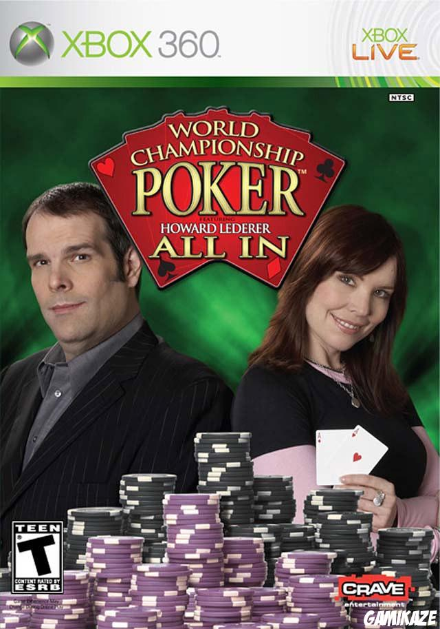 cover World Championship Poker featuring Howard Lederer : All in x360
