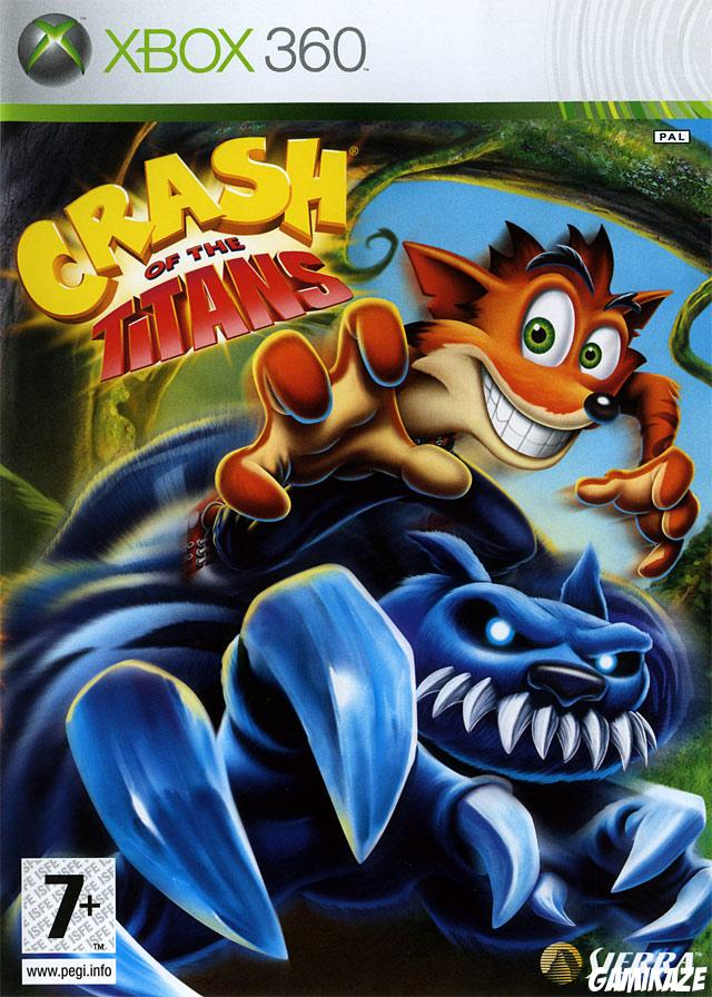 cover Crash of the Titans x360