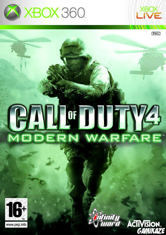 cover Call of Duty 4 : Modern Warfare x360