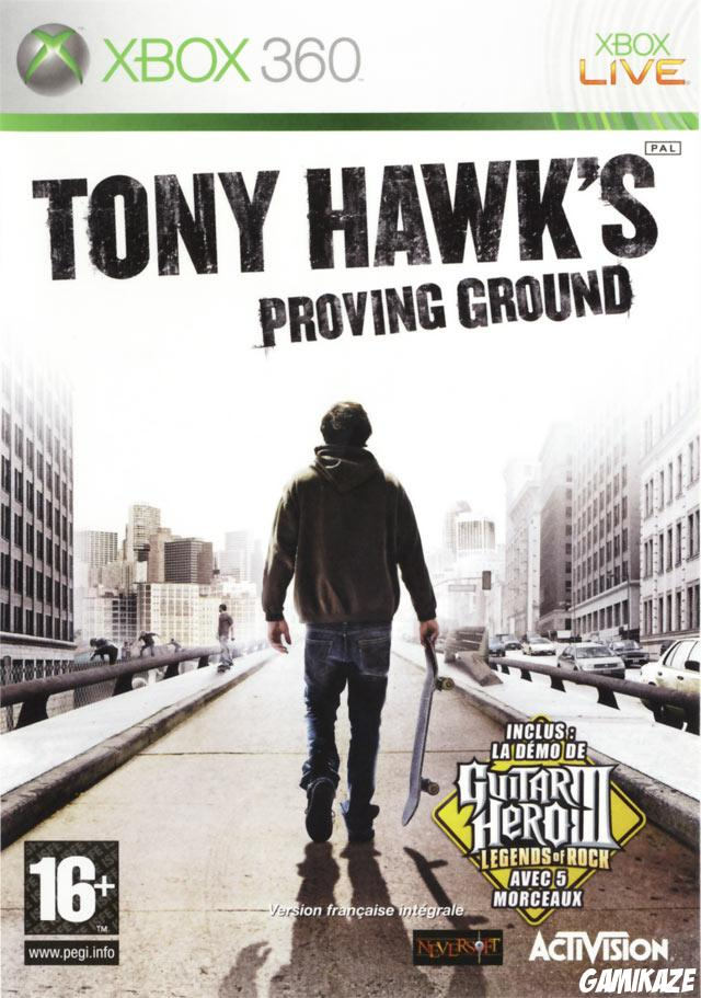 cover Tony Hawk's Proving Ground x360