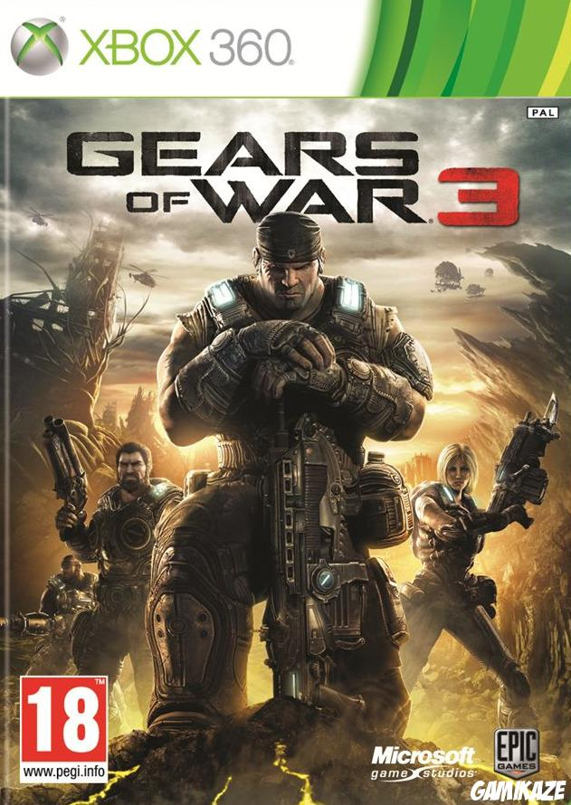 cover Gears of War 3 x360