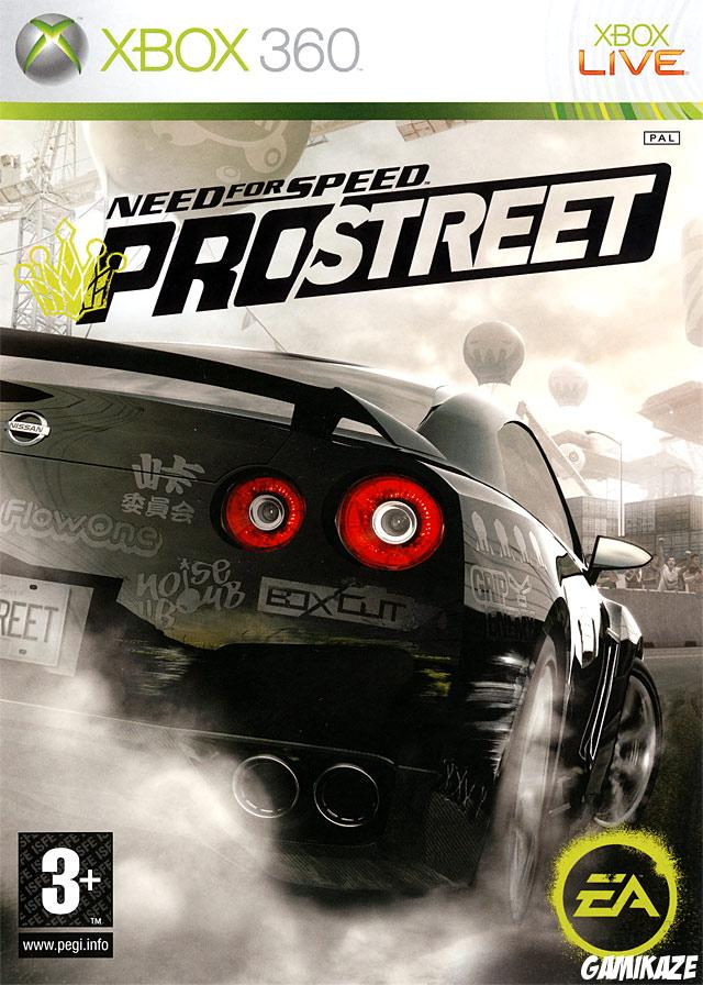 cover Need for Speed ProStreet x360
