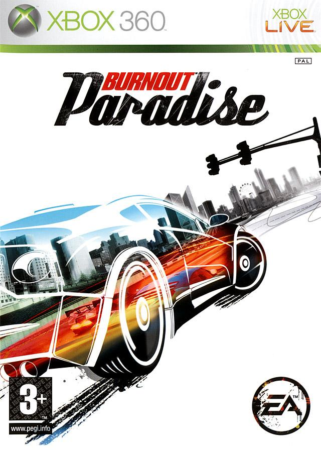 cover Burnout Paradise x360