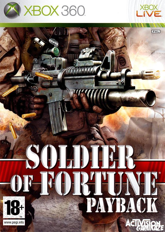 cover Soldier Of Fortune : Payback x360