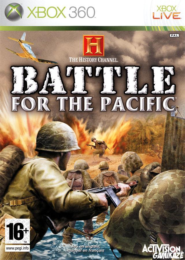 cover History Channel : Battle for the Pacific x360