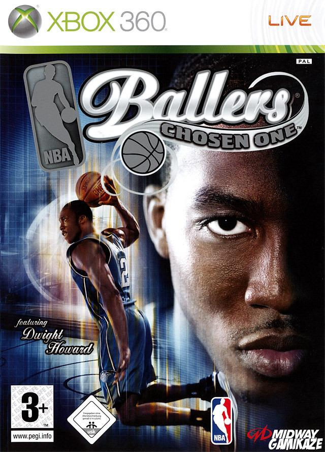 cover NBA Ballers : Chosen One x360