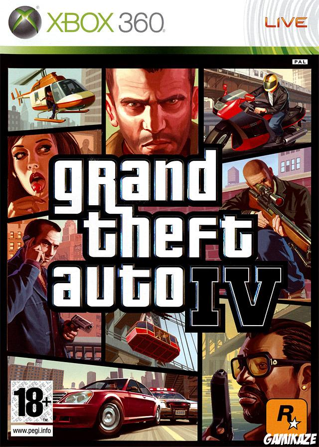 cover Grand Theft Auto IV x360