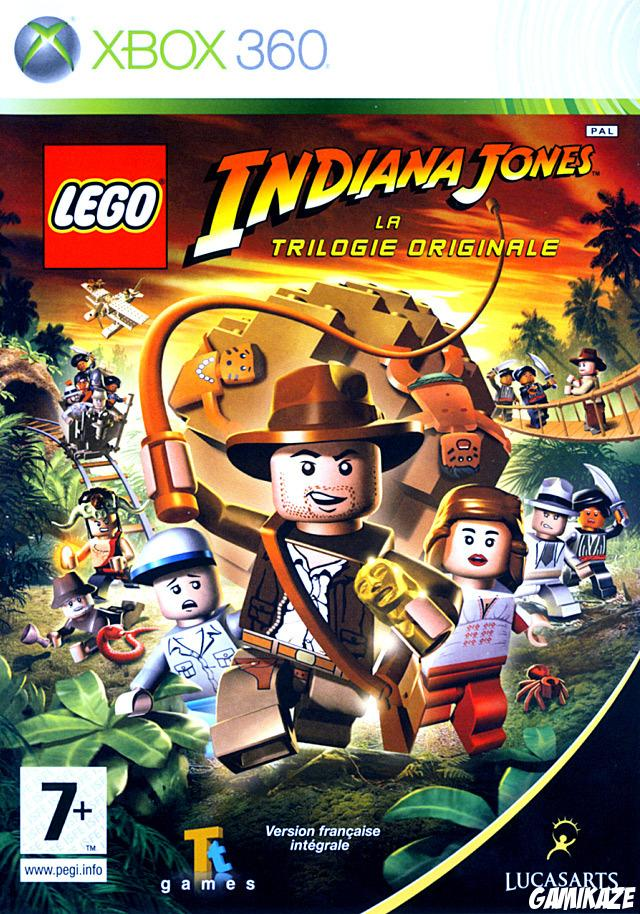cover Lego Indiana Jones : La Trilogie Originale x360