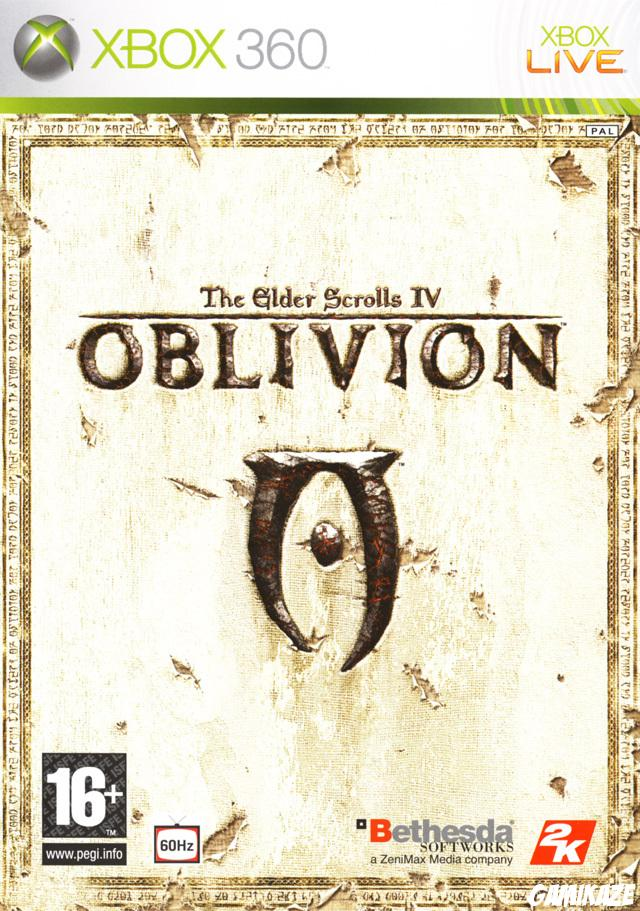 cover The Elder Scrolls IV : Oblivion x360