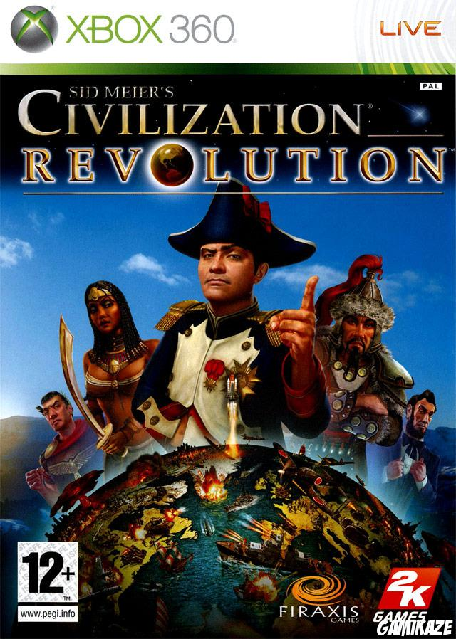 cover Civilization Revolution x360