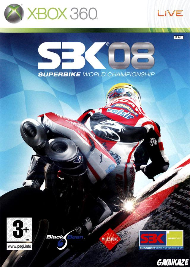 cover SBK 08 : Superbike World Championship x360