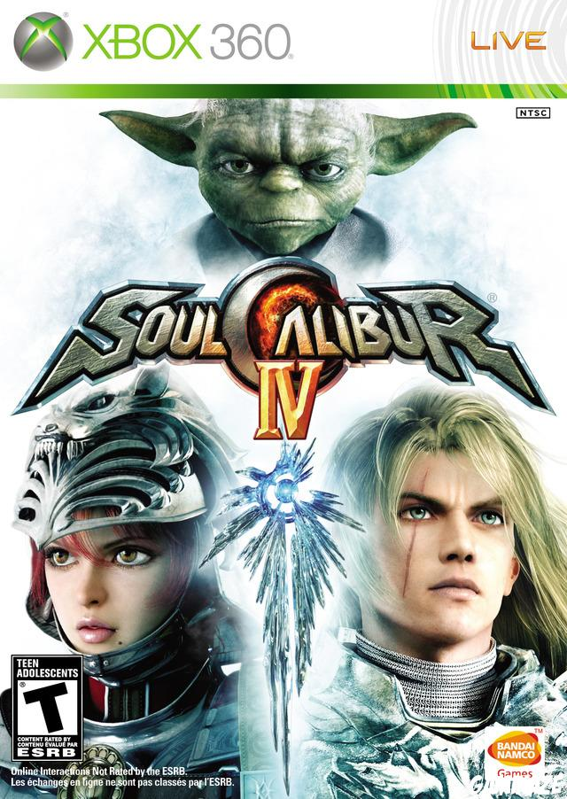 cover SoulCalibur IV x360