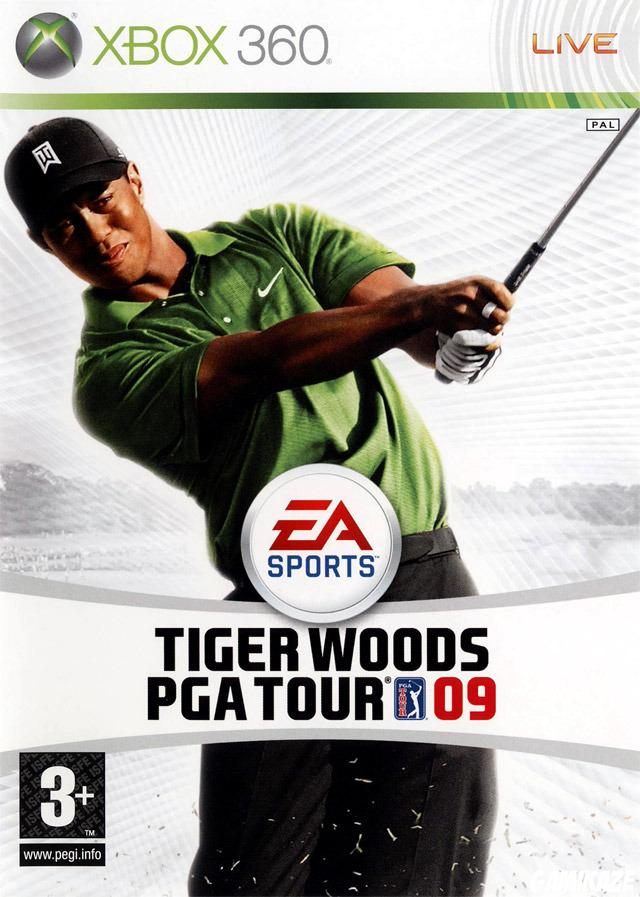 cover Tiger Woods PGA Tour 09 x360